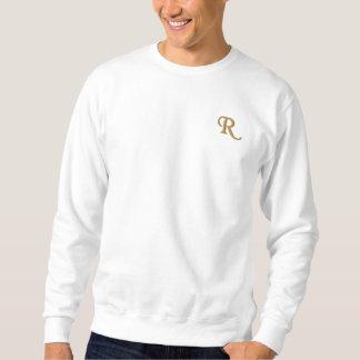 Create Mens Custom Embroidered Monogram Sweatshirt