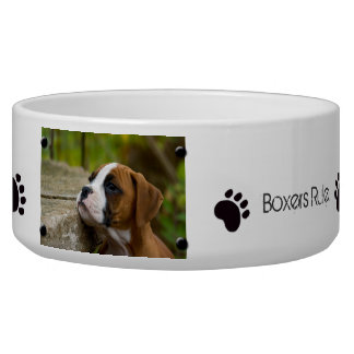 Create Own Custom Image and Text Dog Food Bowl