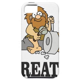 create stone man iPhone 5 cover
