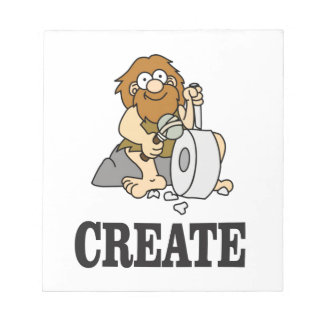create stone man notepads