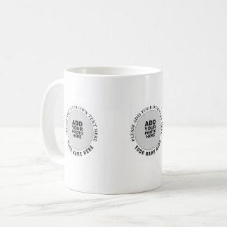 create your b/w special three image coffee mug