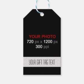Create Your Custom Photos Gift Tag