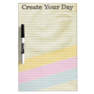 Create Your Day Dry Erase Board