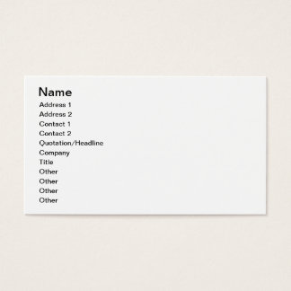 Create Your One Of A Kind Business Card