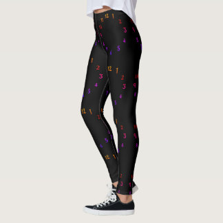 Create Your Own 1 2 3 around the clock beautiful Leggings