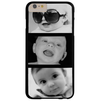 Create-Your-Own 3 Photo iPhone 6 Plus Case Barely There iPhone 6 Plus Case