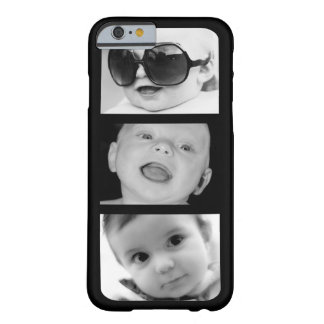 Create-Your-Own 3 Photo Upload iPhone 6 Slim Case Barely There iPhone 6 Case
