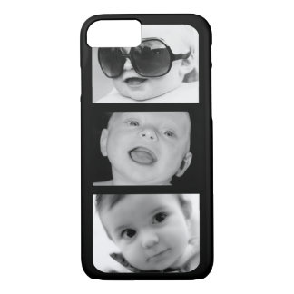 Create-Your-Own 3 Photo Upload iPhone 7 Slim Case