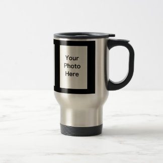Create Your Own 3-Photo Upload Travel Mug