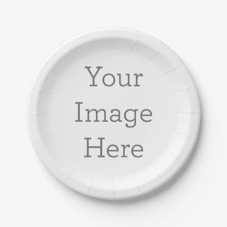 Create Your Own 7 Inch Paper Plate