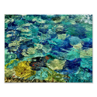 Create Your Own Abstract Art 11 X 8.5 Poster