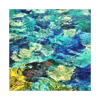 Create Your Own Abstract Art 12 x 12 Canvas Print