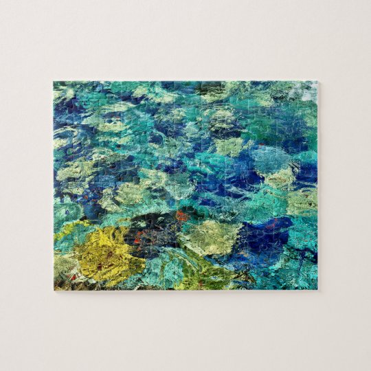 Create Your Own Abstract Art 8 x 10 Jigsaw Puzzle
