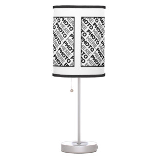 Create Your Own Add 4 Photos Table Lamp 1