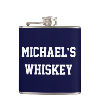 Create Your Own Add Your Name Whiskey Hip Flask