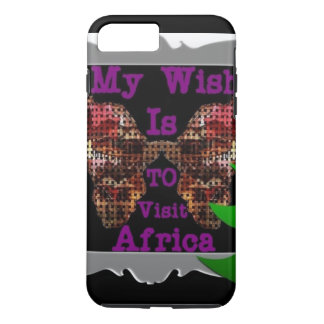 Create Your Own Africa My Wish iPhone 8 Plus/7 Plus Case