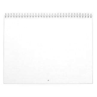 Create Your Own All White Photo Wall Calendar 20XX