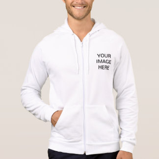 Create Your Own American Apparel California Zip Hoodie