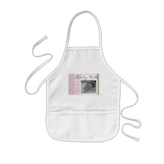 Create your own baby announcements kids' apron