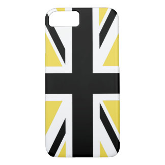 Create Your Own Black Union Jack iPhone 8/7 Case
