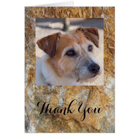 Create your own blank thank you card