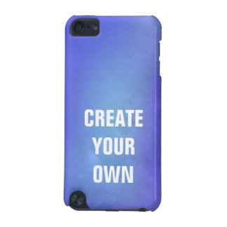 Create Your Own Blue Watercolor Painting iPod Touch 5G Covers