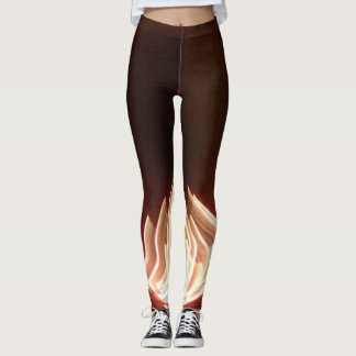 Create Your Own Burning with Passion lovely pretty Leggings