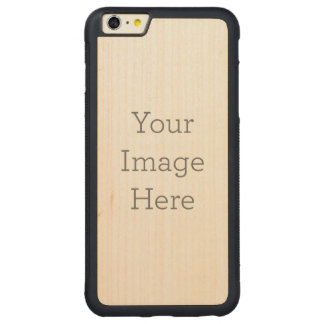 Create Your Own Carved® Maple iPhone 6 Plus Bumper Case