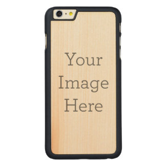 Create Your Own Carved Maple iPhone 6 Plus Case