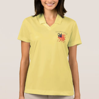 Create Your Own Change USA Peace Hope Love Polo Shirt