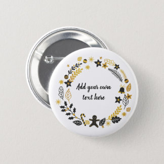 Create Your Own Christmas Button