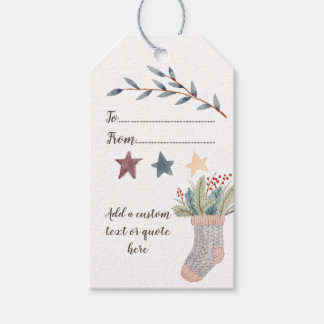 Create Your Own Christmas Gift Tags