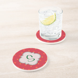 Create Your Own Christmas Patterned Holiday Coaster