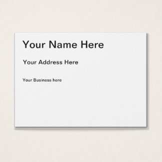 Business cards business card printing zazzle canada create your own chubby business card reheart Image collections