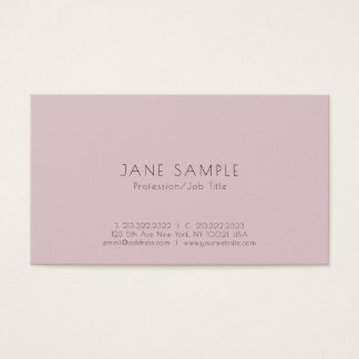 Create Your Own Clean Modern Elegant Design Business Card