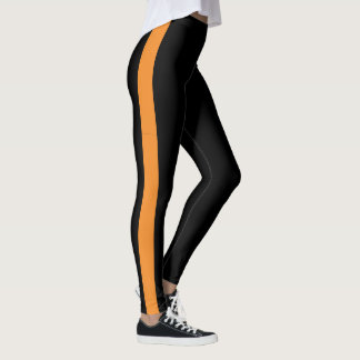 Create Your Own Colored Single Striped Leggings