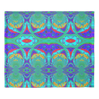 Create Your Own Colorful Brazil cute samba colors Duvet Cover
