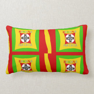 Create Your Own Colorful Funny colors art design Lumbar Pillow