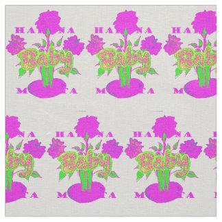 Create Your Own Colorful Hakuna Matata cute pretty Fabric