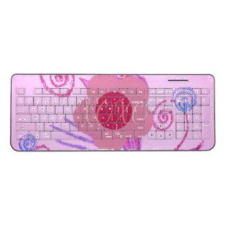 Create Your Own Colorful Hakuna Matata cute pretty Wireless Keyboard