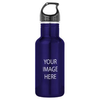 Create Your Own Custom 18 oz Blue Water Bottle