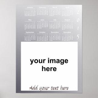 Create Your Own Custom 2015 Photo Wall Calendar Print