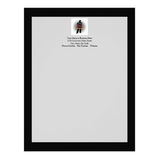 27 Personalized Stationery Templates: Create Your Own Custom Personalized Photo Letterhead