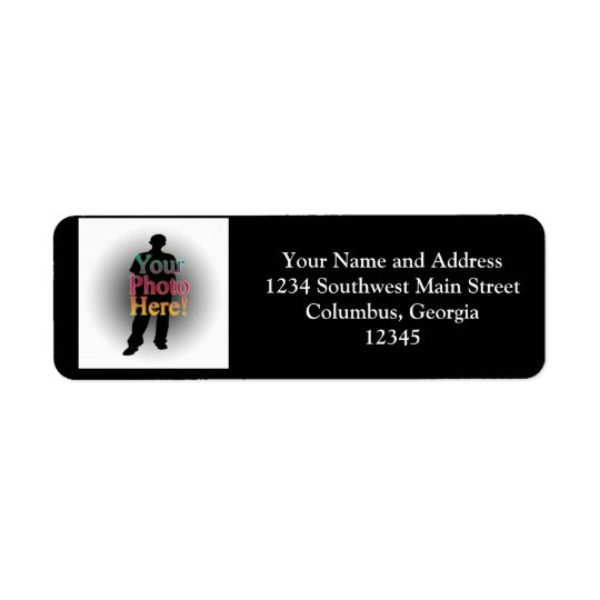 Create Your Own Custom Personalized Photo Return Address Label