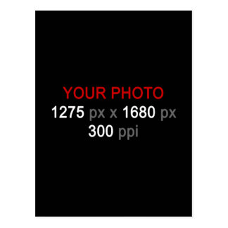 Create Your Own Custom Photo Postcard