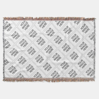 "Create Your Own CUSTOM PRODUCT Your Design Here ""Y Throw Blanket"