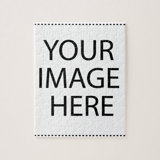 Create Your Own CUSTOM PRODUCT YOUR IMAGE HERE Jigsaw Puzzle