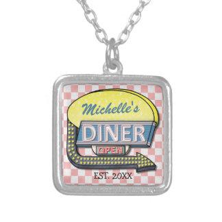 Create Your Own Custom Retro 50 s Diner Sign Pendants