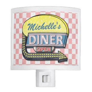 Create Your Own Custom Retro 50's Diner Sign 2 Nite Lites