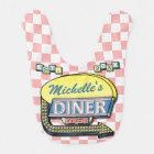 Create Your Own Custom Retro 50's Diner Sign Bib